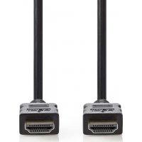 NEDIS CVGT34000BK100 Καλώδιο HDMI αρσ. - HDMI αρσ. 10m με Επίχρυσες Επαφές 0020835