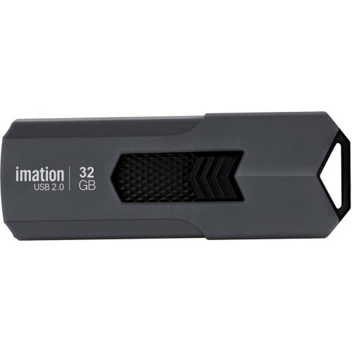 IMATION KR03020046 USB Flash Drive Iron, 32GB, USB 2.0, Γκρι 0021078