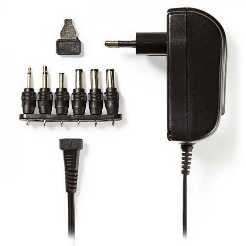 NEDIS ACPA002 Universal Τροφοδοτικό 18W Switching με Συμπαγή Σχεδιασμό Έξοδο 3-12V και Ενδεικτική Λυχνία LED