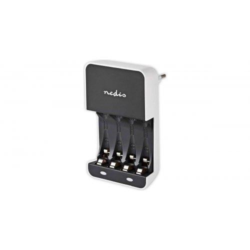 NEDIS BACH05 Φορτιστής για Μπαταρίες ΑΑ/ΑΑΑ