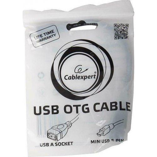 CABLEXPERT A-OTG-AFBM-002 USB OTG AF TO MINI-BM CABLE 0,15m 0021139