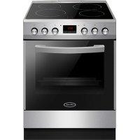 JURO PRO HK7211SP Ηλεκτρική Κουζίνα Με Κεραμικές Εστίες 77 lt Inox (Αερόθερμη)
