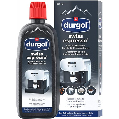 DURGOL SWISS ESPRESSO Υγρό Καθαρισμού Αλάτων Μηχανών Espresso για Dolce Gusto & άλλες μηχανές espresso 500ml 0021381