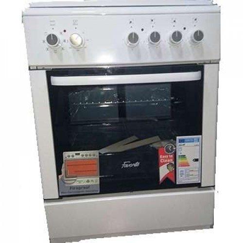 FAVORIT FAV600W Ηλεκτρική Κουζίνα Με Αέρα 64L  - (Π x Β x Υ: 60 x 60 x 85 cm)  Λευκή 0021532