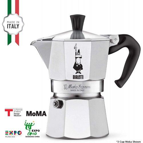 BIALETTI Moka Express Καφετιέρα Espresso 12 Μερίδων (0001166/X2) 0021552