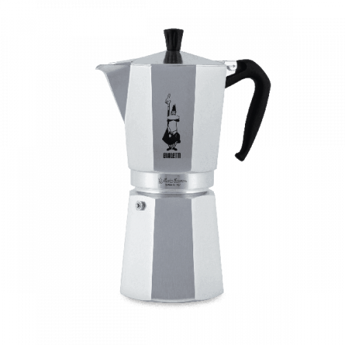 BIALETTI Moka Express Καφετιέρα Espresso 18 Μερίδων (Αλουμινίου) (0001167/X2) 0021553