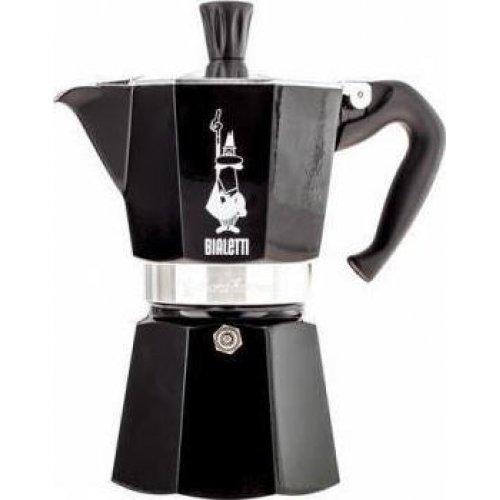BIALETTI Moka Express Καφετιέρα Espresso 6 Μερίδων Μαύρο - Αλουμινίο (0004953) 0021588