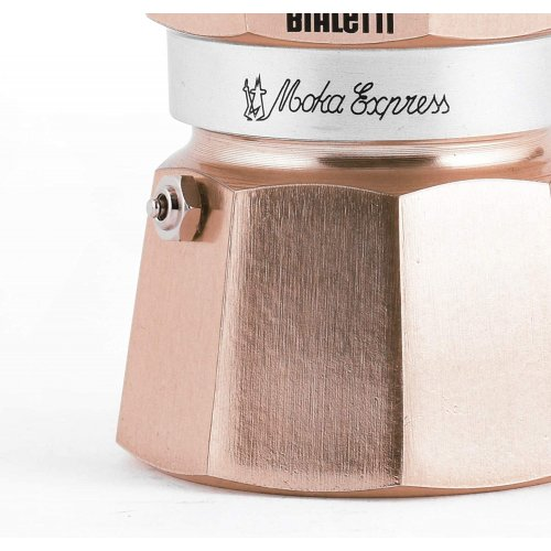 BIALETTI Moka Express Καφετιέρα Espresso 3 Μερίδων Rose Gold (RSG003) 0021617