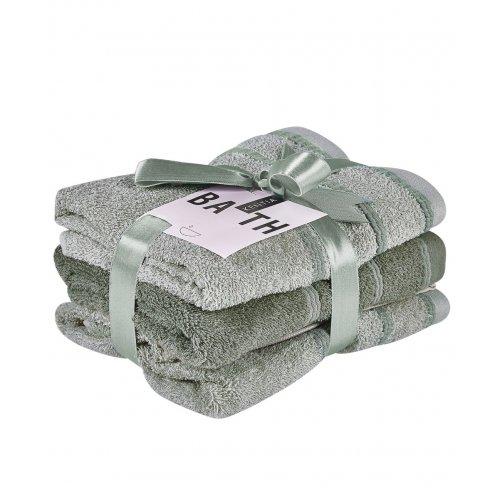 KENTIA Zana 10 Πετσέτες Προσώπου Σετ 3 Τεμ 50x90