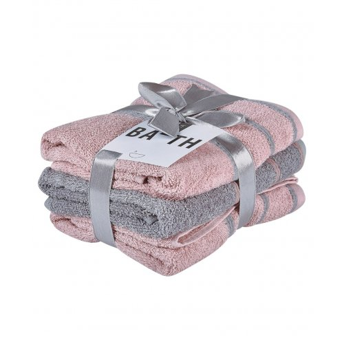 KENTIA Zana 18 Πετσέτες Προσώπου Σετ 3 Τεμ 50x90