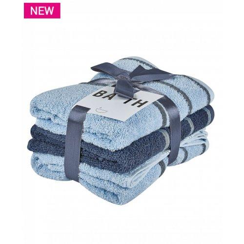 KENTIA Zana 19 Πετσέτες Προσώπου Σετ 3 Τεμ 50x90