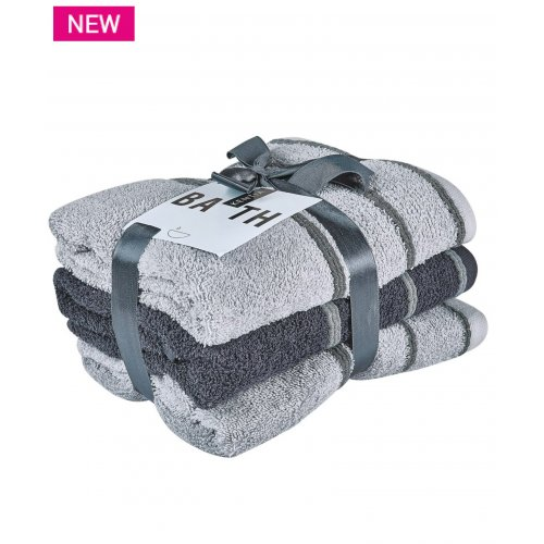 KENTIA Zana 22 Πετσέτες Προσώπου Σετ 3 Τεμ 50x90
