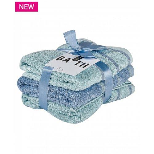 KENTIA Zana 35 Πετσέτες Προσώπου Σετ 3 Τεμ 50x90