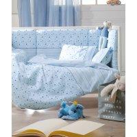 KENTIA Piccolo Σετ Παιδικό Σεντόνι Μονό Light Blue 160 x 255 0021739