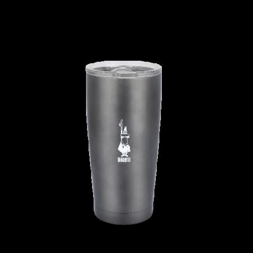 BIALETTI Κούπα Θερμός Ανοξείδωτη 550ml Γκρι (DCXIN00010/2)