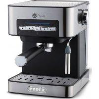 PYREX SB-380 Μηχανή Espresso 20 bar - 850W - 1.6lt Inox 0022120