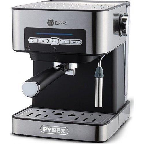 PYREX SB-380 Μηχανή Espresso 20 bar - 850W - 1.6lt Inox