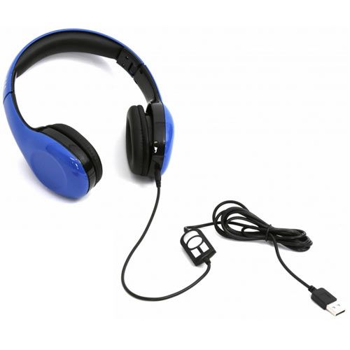 PLATINET PL42686 Freestyle USB Headset With Mic Blue