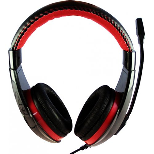 MEDIA-TECH MT3574 Stereo USB Headphones With Sound And Mic Regulation Nemesis