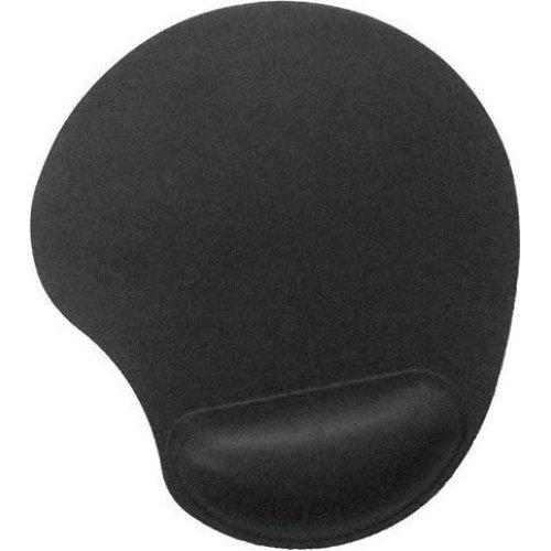 GEMBIRD MP-GEL-BK Gel Mouse Pad With Wrist Rest Black