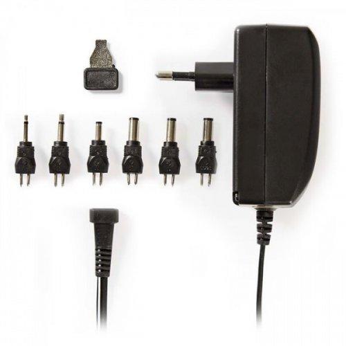 NEDIS ACPA003 Universal Τροφοδοτικό 24W Switching με Συμπαγή Σχεδιασμό Έξοδο 9-24V και Ενδεικτική Λυχνία LED