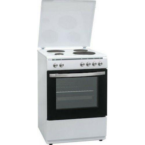 ROBIN BN-74 Ηλεκτρική Κουζίνα Λευκή 69lt - A - (Υ x Π x Β: 87,5 x 59,5 x 60cm) 0022383