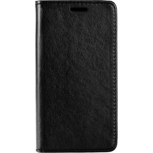 POWERTECH MOB-1065 Θήκη Leather magnet για Samsung A6 Plus 2018 Black 0022389