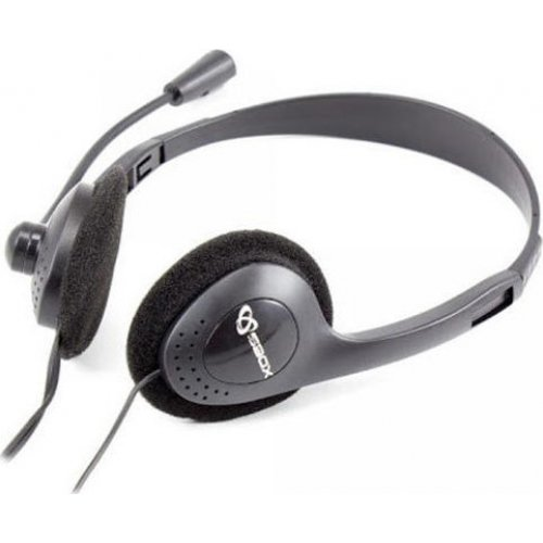 SBOX HS-201 Stereo Headset 3,5mm Jack With Mic
