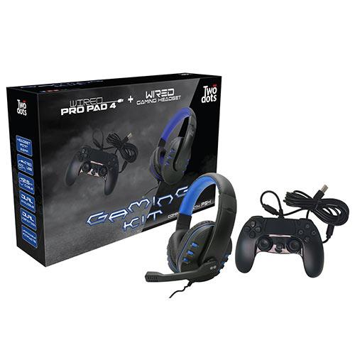 TWODOTS TDGT0085 PS4 Gaming Kit 0022404
