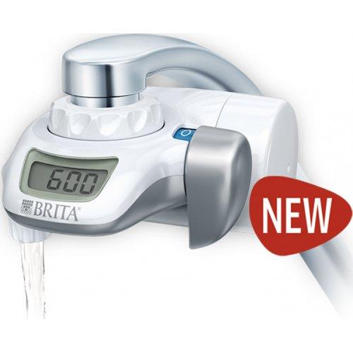 BRITA ON-TAP New Model Σύστημα Φιλτραρίσματος Νερού Βρύσης Ηλεκτρονικό με Ψηφιακή Ένδειξη - Λευκό Made In Japan