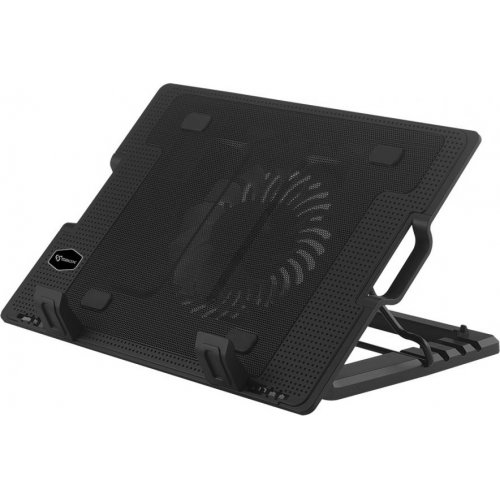 SBOX CP-12 USB Cooling Pad 17,3? With Adjustable Height Bleu LED FAN 130mm