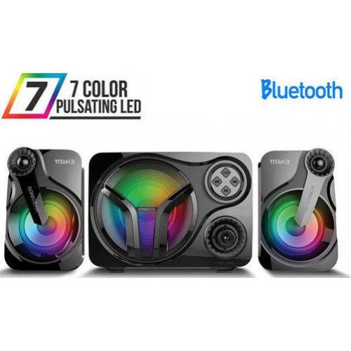 SONIC GEAR TITAN3BTMI Stereo Bluetooth 2.1 Speaker System TITAN 3 0022610