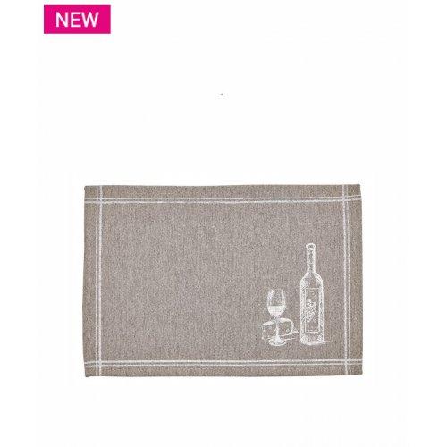 ΚΕΝΤΙΑ Wine Σετ 4 Τεμ. Σουπλά 35x50