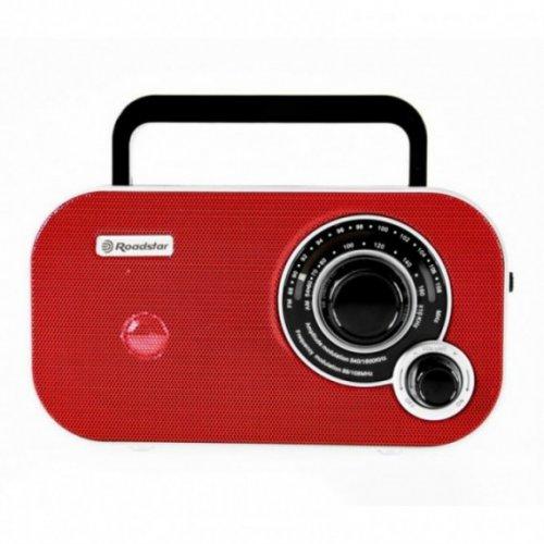 ROADSTAR TRA-2235 RD Φορητό Ραδιόφωνο FM Κόκκινο
