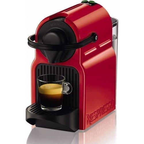 KRUPS XN1005S Nespresso Inissia Καφετιέρα Espresso 19bar - 1260W - 0.7lt Κόκκινη