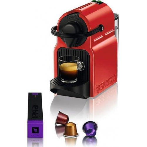 KRUPS XN1005S Nespresso Inissia Καφετιέρα Espresso 19bar - 1260W - 0.7lt Κόκκινη 0022750