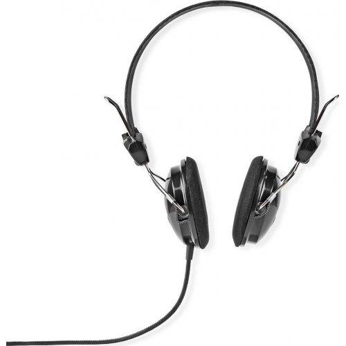 NEDIS HPWD1103BK Ακουστικά Hi-Fi Μεγάλου Μεγέθους , με Οδηγούς Neodymium 40mm 0022913