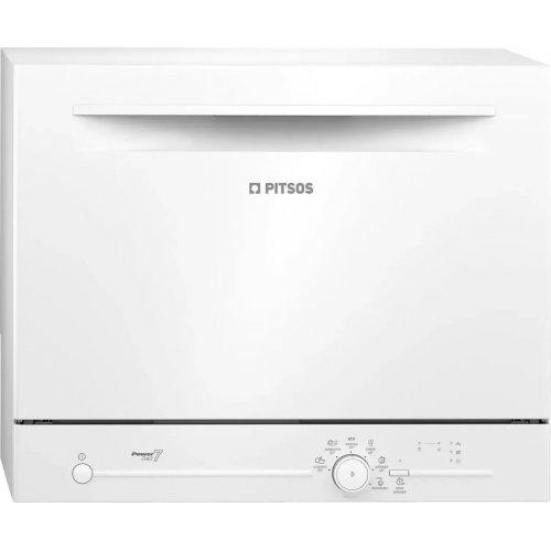 PITSOS POWERJET7 Επιτραπέζιο Πλυντήριο Πιάτων 6 Σερβίτσια - A+ - (Υ x Π x Β): 45 x 55.1 x 50 cm 0022950