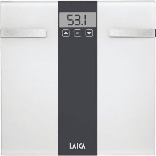 LAICA PS5000W Ηλεκτρική Ζυγαριά - Λιπομετρητής εώς 180kg White 0023031