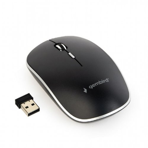 GEMBIRD MUSW-4B-01 Wireless Optical Mouse Black