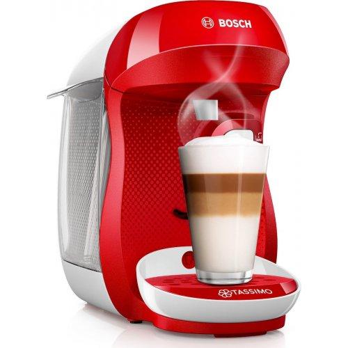 BOSCH Tassimo Happy TAS1006 Αυτόματη Καφετιέρα Espresso Red