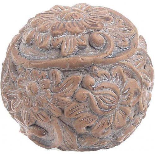 INART 3-70-259-0021 Διακοσμητική Μπάλα Τσιμεντένια Άντικέ Μπέζ Δ10χ9 0023299