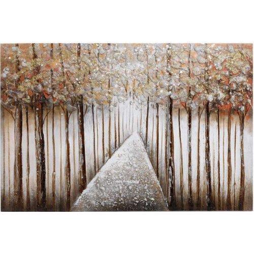 INART 3-90-519-0160  Πίνακας Καμβάς Δάσος 90χ60 0023346