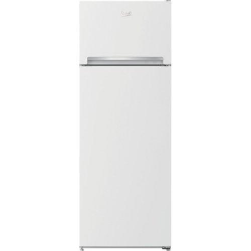 BEKO RDSA 240K30 WN Δίπορτο Ψυγείο Λευκό 223lt - A+ - (ΥxΠxΒ: 145.80 x 54 x 60cm) 0023565