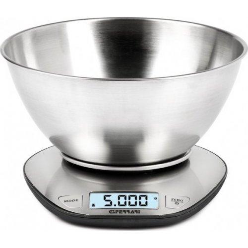 G3FERRARI G20062 Ανοξείδωτη Ψηφιακή Ζυγαριά Κουζίνας 5kg / 1gr 0023744