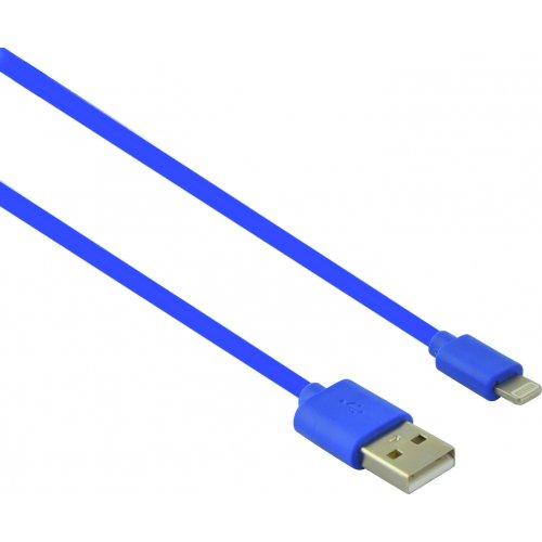 LAMTECH LAM445141 USB Καλώδιο Φόρτισης I Phone 5/6/7  Μπλε 2.1Α 1m 0023936