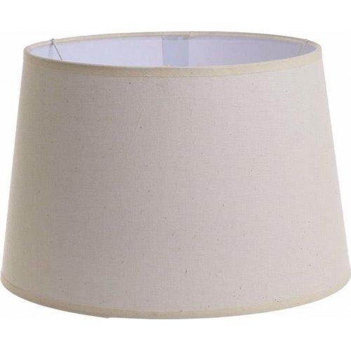 INART 3-70-716-0027 Καπέλο Φωτιστικού Υφασμάτινο Εκρού Δ30χ20 Ε27