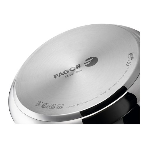 FAGOR 81OPFGCLAS1 CLASICA Χύτρα 10Lt (Κατάλληλο για Όλους τους Τύπους Εστιών) 0024444