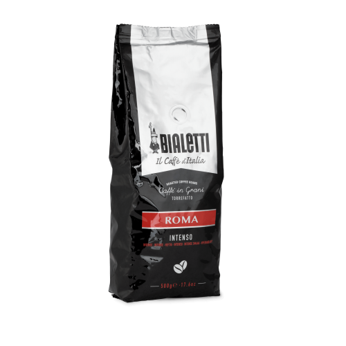 BIALETTI COFFEE BEANS Roma Intenso Καφές σε Κόκκους 500gr 0024710