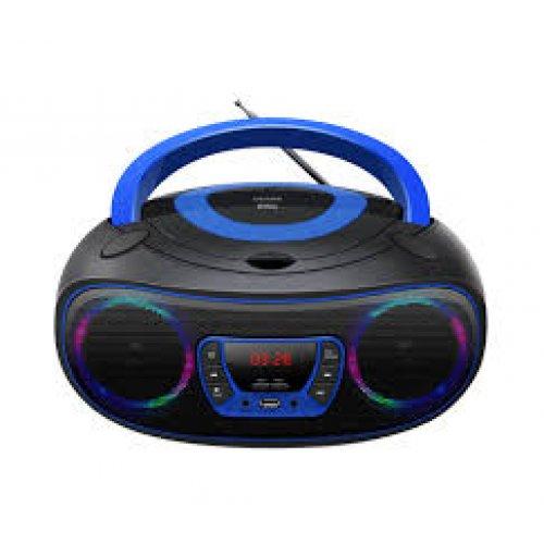 DENVER TCL-212BT Φορητό Ράδιο/USB/SD Μπλε 0024754
